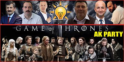 Flaş... Game Of Thrones Ak Party!... ( AK Parti'de taht oyunları! )